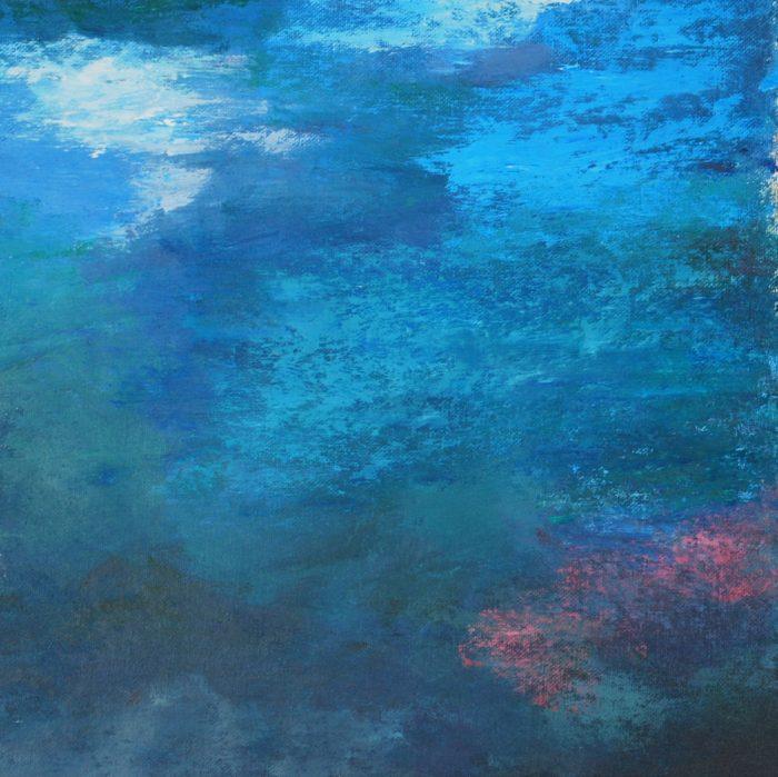 Aer I, 30 x 30 cm, Acryl auf Papier, 2014