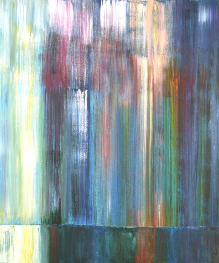 Im magischen Licht I, 120x100cm, Acryl auf Leinwand, 2008