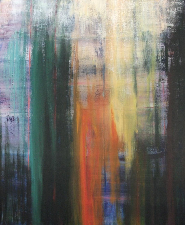 Im magischen Licht II, 120x100 cm, Acryl auf Leinwand, 2012