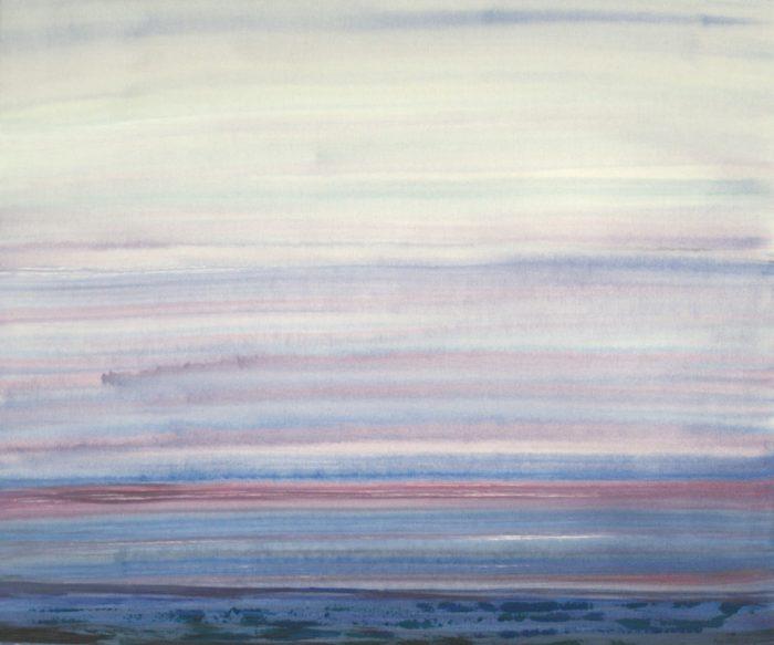 Nordseeküste, 100x120 cm, 2009, Acryl auf Leinwand