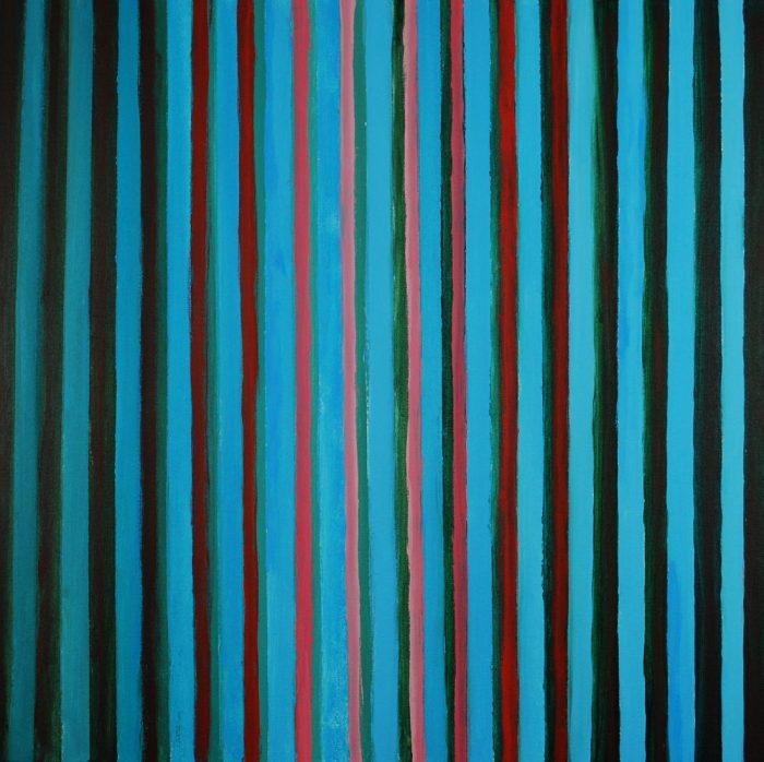 Zum Licht II, 60x60 cm, Acryl auf Leinwand, 2016